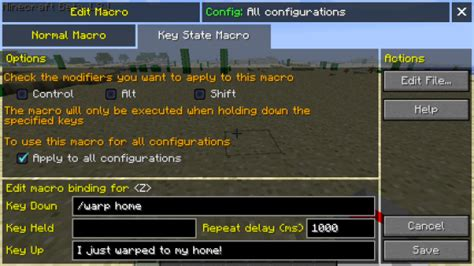 micro for crafting keybind mod 1 12 1 11 2 1 10 2 1 9 4 utilities
