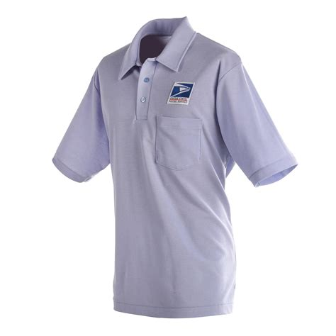 Mens Knit Polo Shirt For Letter Carriers And Motor Vehicl