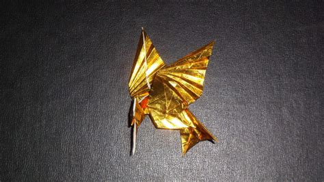 mockingjay origami origami mockingjay from hunger bird only by