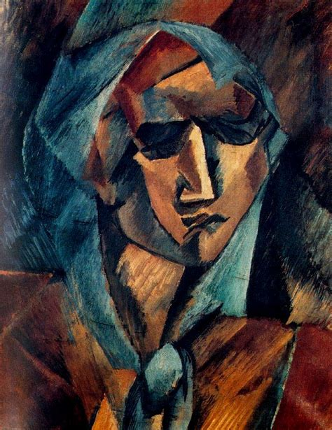picasso paintings chronological order georges braque of a 1909 on canvas