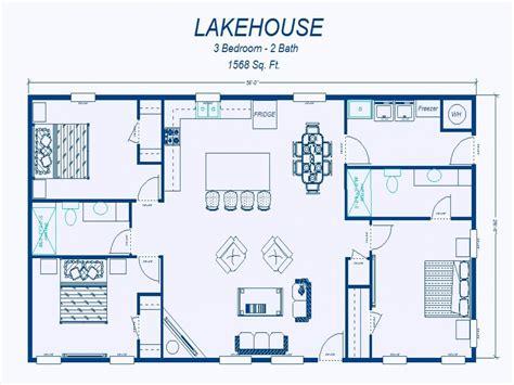 simple 3 bedroom house plans simple 3 bedroom house floor plans simple 3 bedroom house plans lake homes floor plans