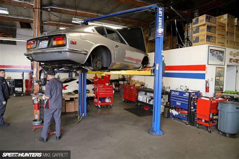 big car garage z car garage where datsun geeks rule speedhunters