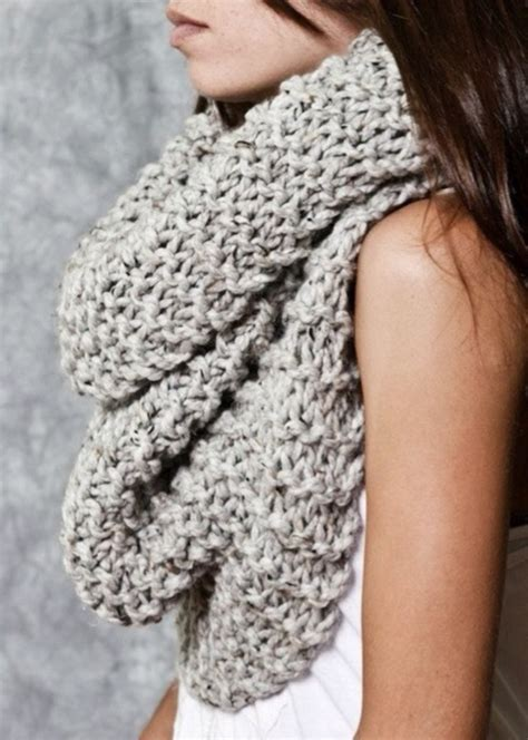 chunky knit scarf chunky knit circle loop cowl infinity scarf snood