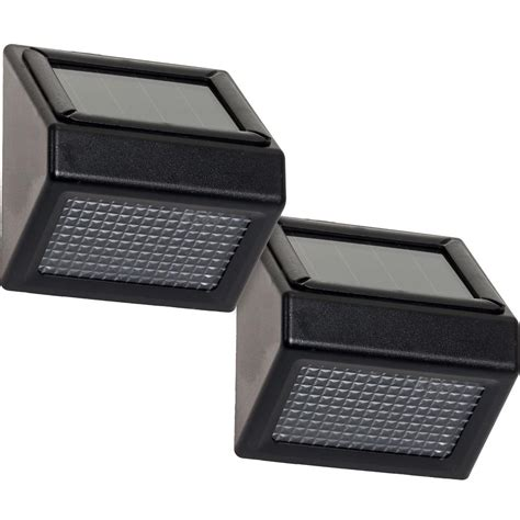 home depot solar flood lights greenlighting solar powered black outdoor integrated led