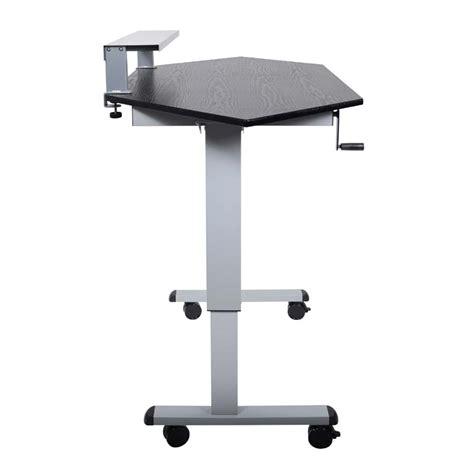 corner stand up desk corner stand up desk luxor h wilson standup ccf60 b