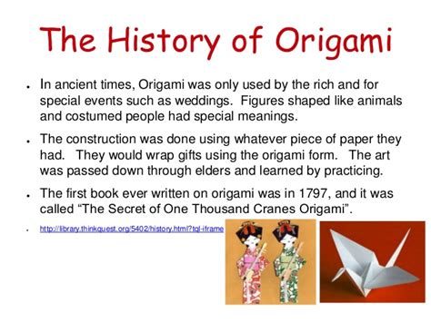 who started origami origami