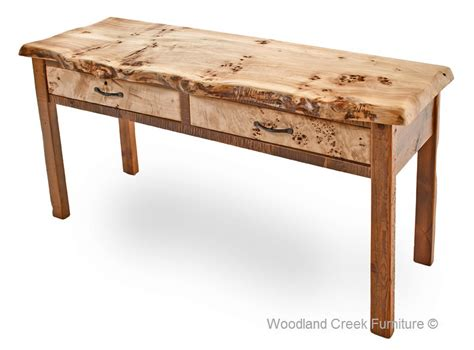reclaimed wood sofa table barn wood sofa table with burl wood reclaimed cocktail