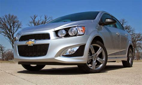 2014 Chevy Sonic Sedan by 2014 Chevrolet Sonic Rs Sedan Drive Review Autos