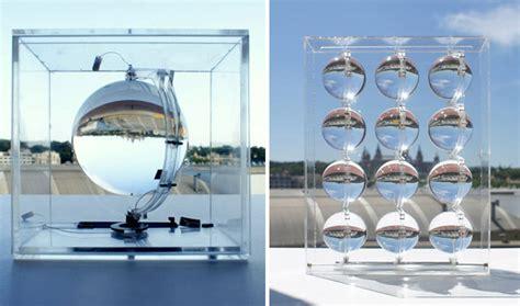 spherical glass spherical glass solar energy generator by rawlemon