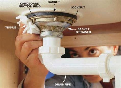 repair kitchen sink drain 5 best images of bathroom sink drain repair diagram
