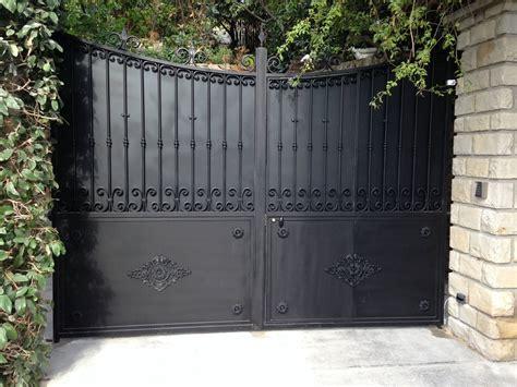 portail fer forg 233 sur mesure portillon int 233 gr 233 mod 232 le sylvain portail