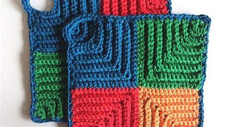 knit potholder pattern 9 beautiful pot holder knitting patterns sizzle stich