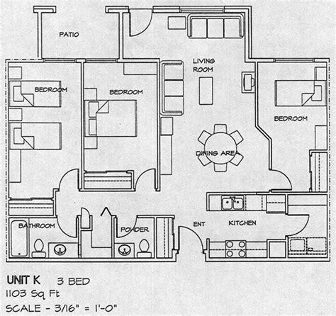 3 floor plan floor plans for 3 bedroom homes 171 floor plans