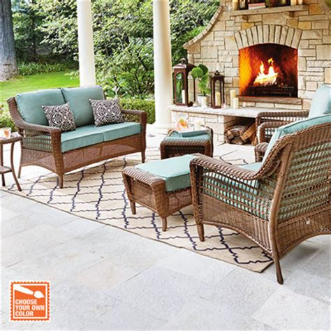 outdoor patio furniture sets patio furniture for your outdoor space the home depot