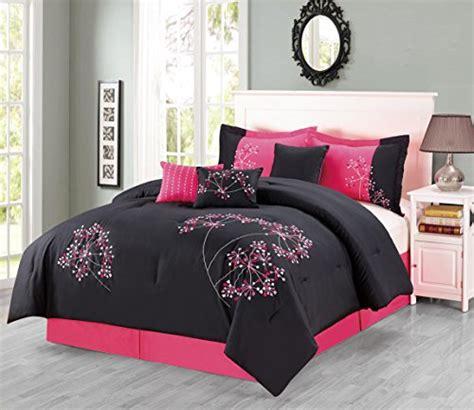 black and pink bedding set black and pink bedding sets