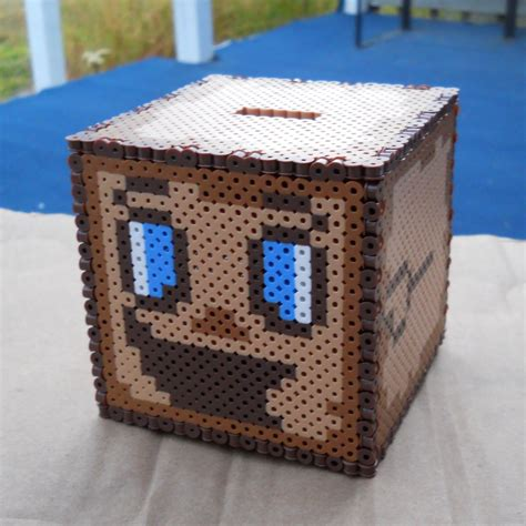bead boxes markiplier tiny box tim perler bead coin bank by
