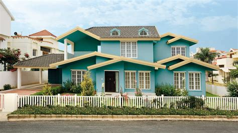 exterior house paint colors one story one story house exterior colors blue house design