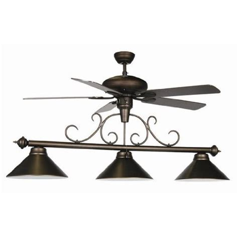 ram gameroom products ceiling fan pool table light