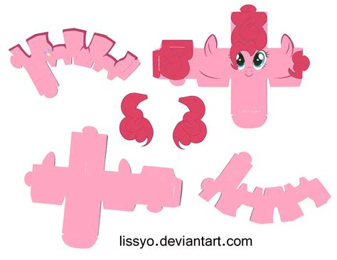 my paper crafting paper ponies by lissyo on deviantart