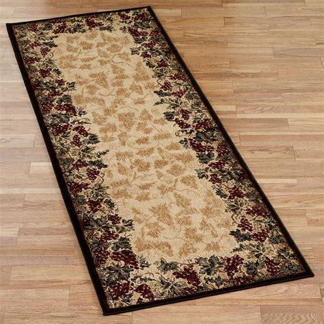 kitchen area rugs and runners beaujolais ii grape rug runner