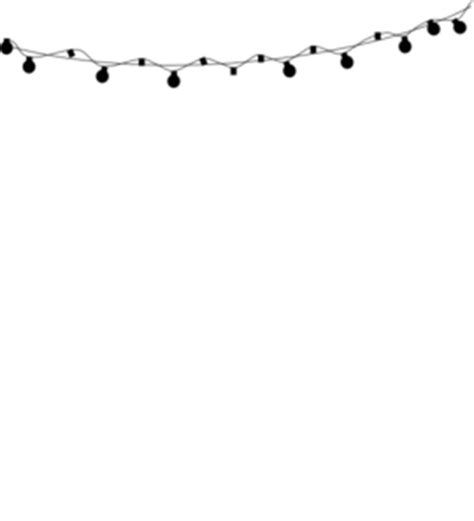silhouette lights black silhouette string lights clip at clker