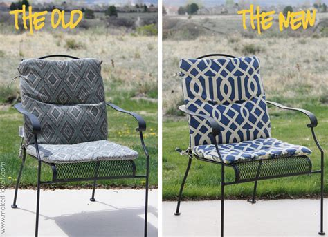 patio chair pillows make your own reversible patio chair cushions make it