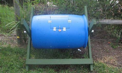crea tu propia casa crea tu propia compostadora giratoria en casa