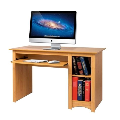 small computer desk sonoma small wood computer desk in maple mdd 2948