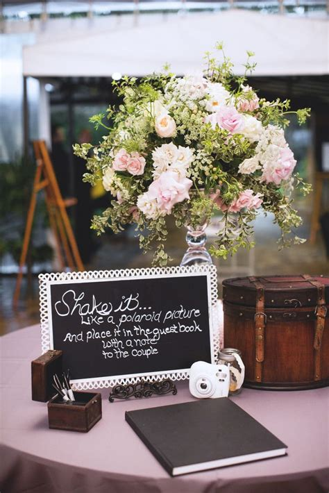 polaroid picture wedding guest book polaroid guest book mcd wedding inspiration