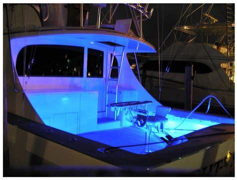 led light strips for boats 2 x 1m boat led blue decor
