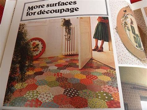 decoupage floor ideas hexagon decoupage floor decoupage ideas