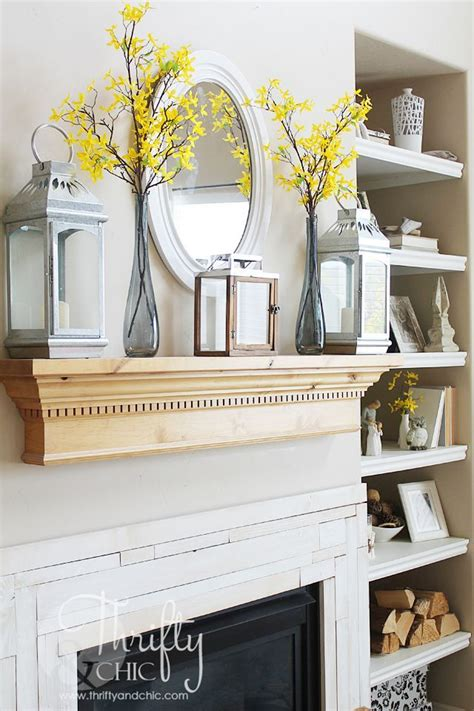 decorating a mantel for best 10 mantel shelf ideas on mantle shelf