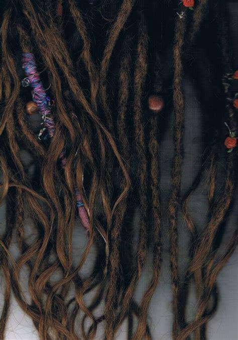 beaded dreads bead brown dreadlocks dreads image 253773 on