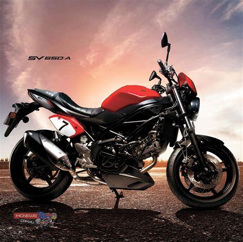 Sv650 Suzuki by 2016 Suzuki Sv650 Mcnews Au