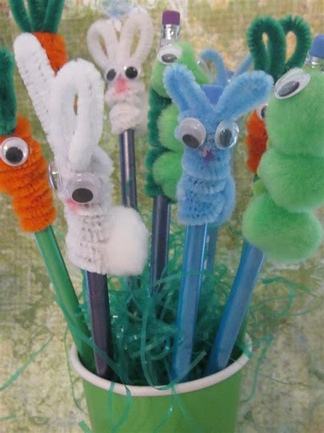pencil topper crafts for bunny pencil topper diy crafts