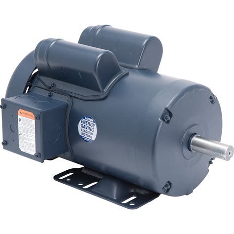 Electric Motor by Leeson Woodworking Electric Motor 3 Hp 3450 Rpm 230