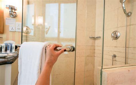 best way to clean a glass shower door homeowner hacks how to clean your shower door tracks