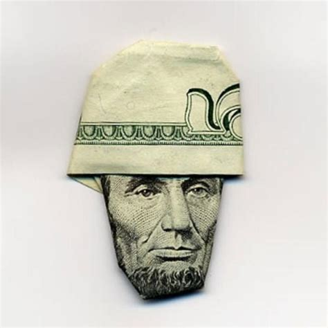 money hat origami stunning origami made using only money