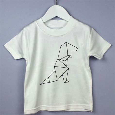 origami t shirt origami dinosaur t shirt by rockwell wilde