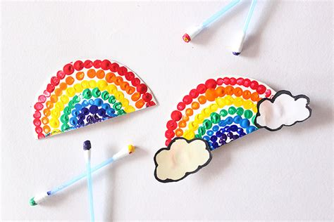 painting craft projects 9 and easy rainbow crafts for to brighten up your