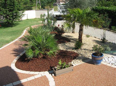 parterre avec cailloux la galerie photos les jardins de bastide paysagiste cr 233 ation et