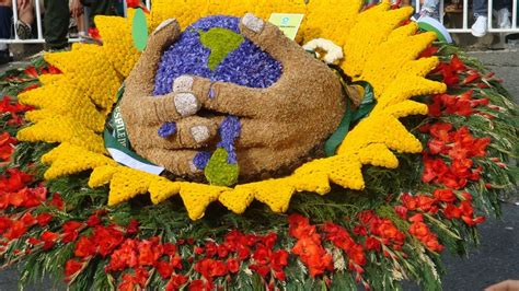 Flower Festival In Medellin Colombia My Is A