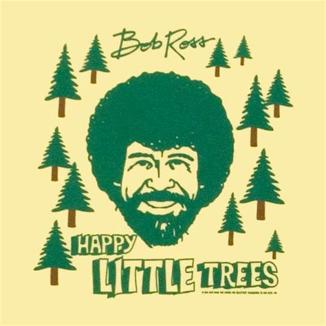 bob ross painting happy trees happy trees lynne meredith golodner
