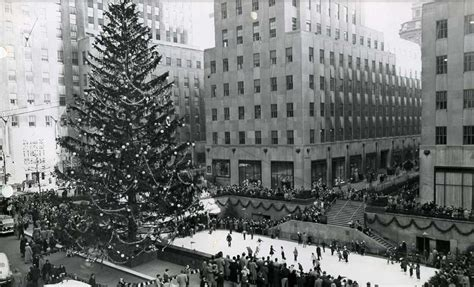 where is rockefeller tree the history of the rockefeller center tree a