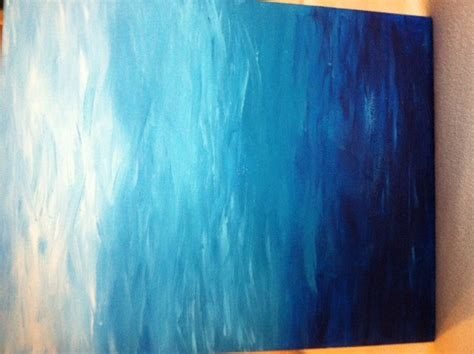 ombre acrylic paint on canvas ombre acrylic on canvas painting 30 00 via etsy