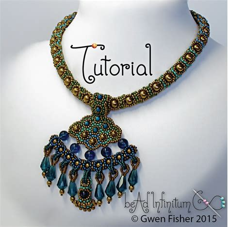 how to put a clasp on a beaded necklace gwenbeads new tutorial delta necklace with beaded