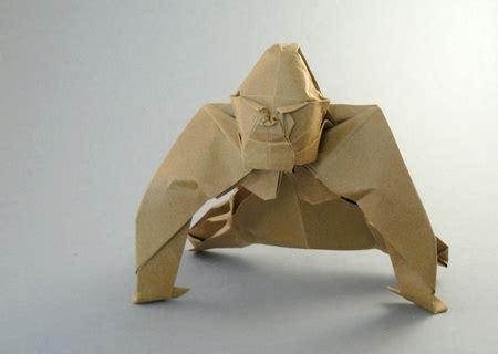 origami gorilla origami gorillas 1 gilad s origami page