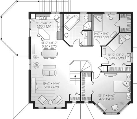 family floor plans selman duplex family home plan 032d 0371 house plans and more