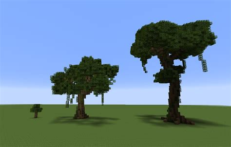 tree on minecraft building with grian minecraft tree tutorial