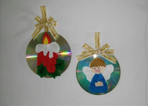 adornos arbol de navidad manualidades como hacer adornos navide 241 os con cd para el arbol de